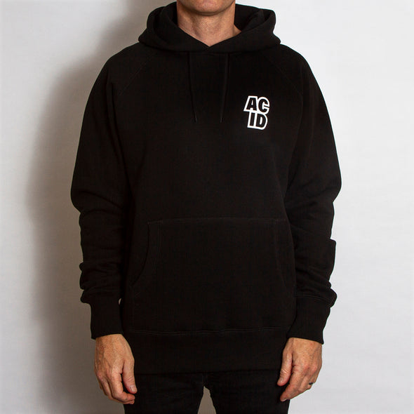 Acid Sport - Pullover Hood - Black - Wasted Heroes