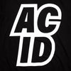 Acid Sport Back Print - Tshirt - Black - Wasted Heroes