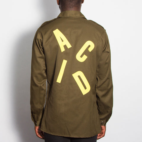 Acid Letter Army Surplus Shirt