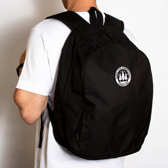 Illegal Rave - Backpack - Black - Wasted Heroes