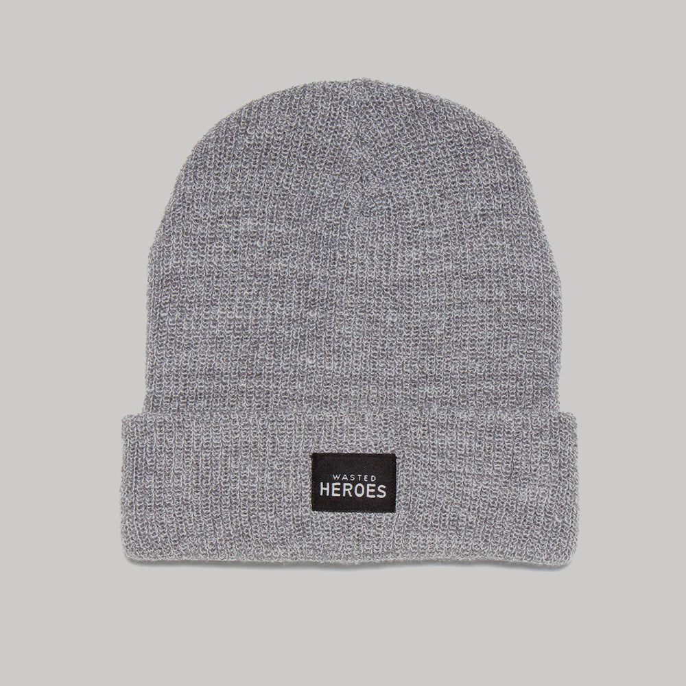 Wasted Heroes Beanie - Grey