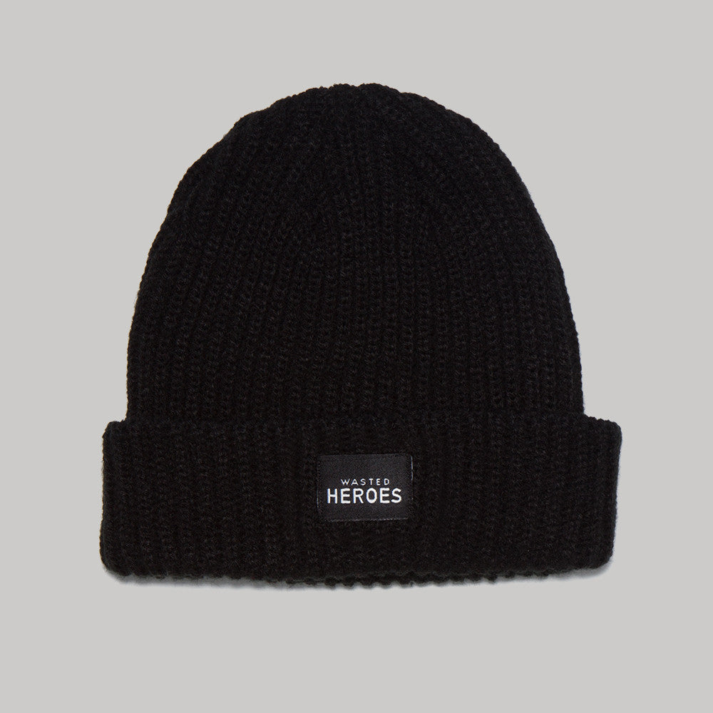Wasted Heroes Trawler Beanie - Black