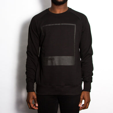 Techno Blk On Blk - Sweatshirt - Black