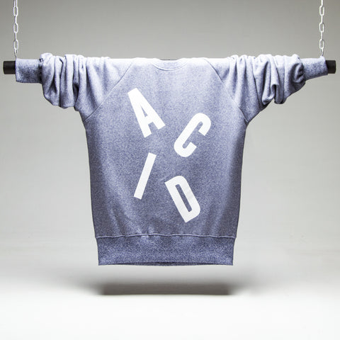 Acid Letter Blue Sweatshirt