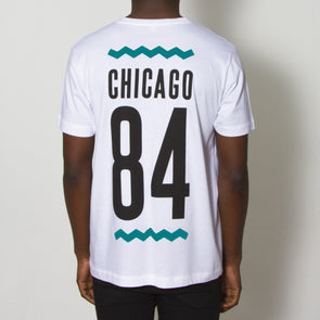 Chicago 84 Back Print - Tshirt - White - Wasted Heroes