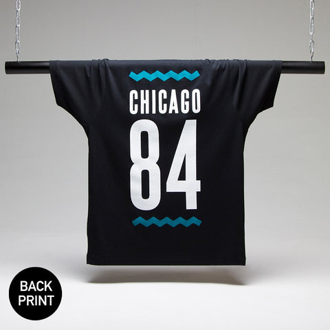 Chicago 84 T-shirt Black