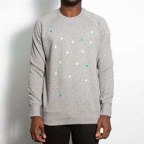 Confetti - Sweatshirt - Grey - Wasted Heroes