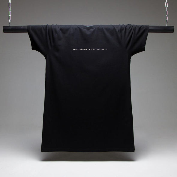 The (DC10) Coordinates Longline T-shirt - Black
