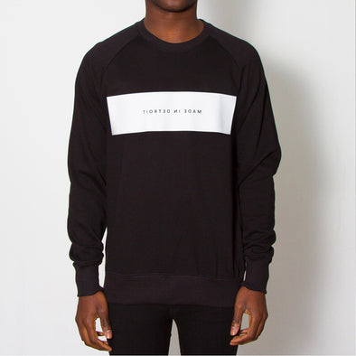 Made in Detroit - Sweatshirt - Black - Wasted Heroes