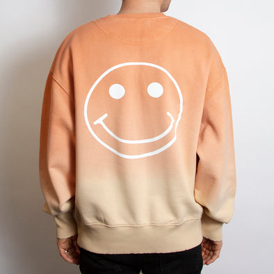 Smiley - Sweatshirt - DipDye - Wasted Heroes