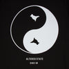 Dove Back Print - Tshirt - Black