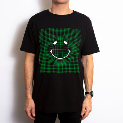 Framework Green Front - Tshirt - Black - Wasted Heroes