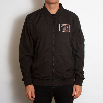 Good Life - Lightweight Bomber - Black - Wasted Heroes
