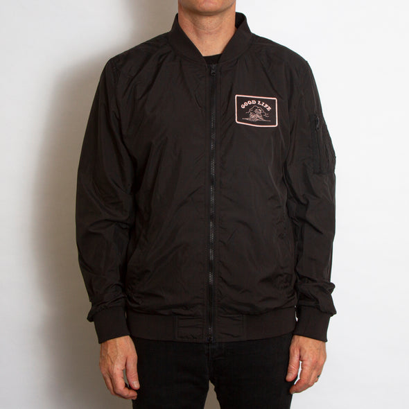 Good Life - Lightweight Bomber - Black