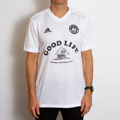 Wasted Heroes FC 004 Good Life - Football Jersey - White