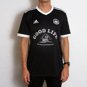 Wasted Heroes FC 004 Good Life - Football Jersey - Black