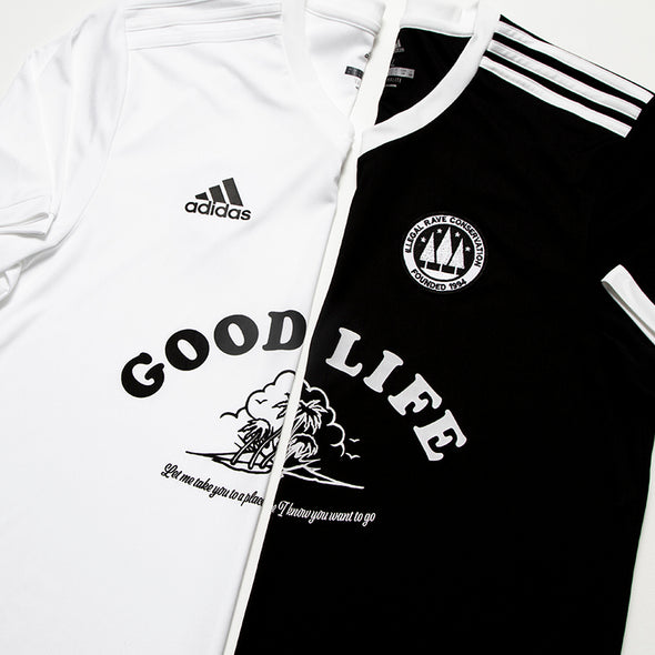 Wasted Heroes FC 004 Good Life - Football Jersey - Black - Wasted Heroes
