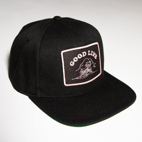 Good Life - Snapback - Black - Wasted Heroes