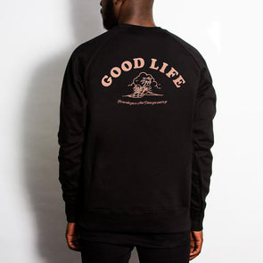 Good Life - Sweatshirt - Black - Wasted Heroes