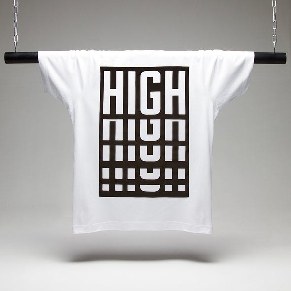 High T-shirt - White
