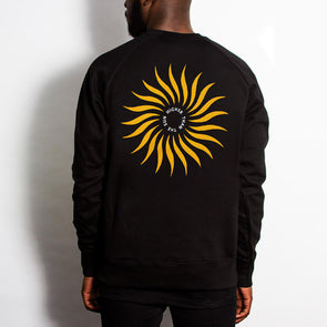 Higher Sun - Sweatshirt - Black