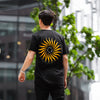 Higher Than The Sun Back Print - Tshirt - Black - Wasted Heroes