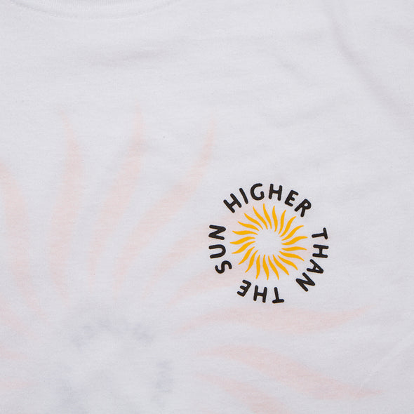 Higher Than The Sun Back Print - Tshirt - White - Wasted Heroes
