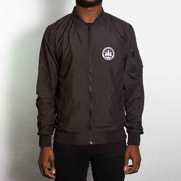 Illegal Rave - Lightweight Bomber - Black - Wasted Heroes