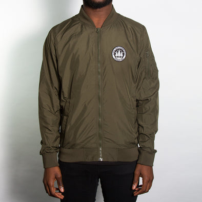 Illegal Rave Lightweight Bomber - Green