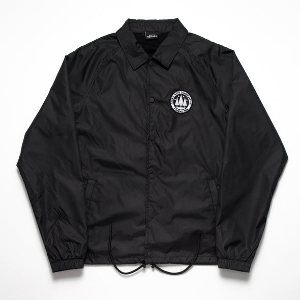 Illegal Rave Conservation - Coach Jacket - Black - Wasted Heroes