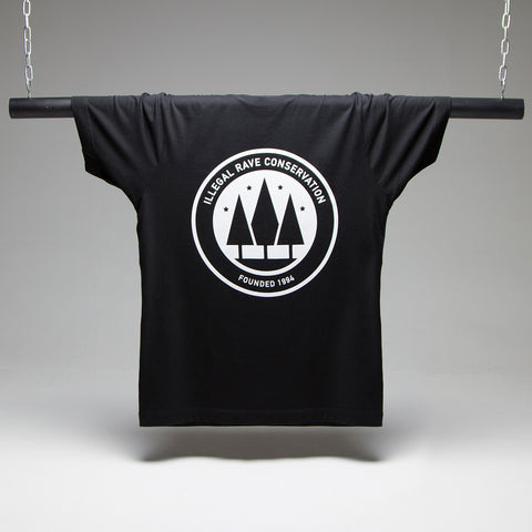 Illegal Rave Conservation T-shirt - Black