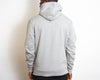Illegal Rave Crest - High Neck Zip Up Hoodie - Grey - Wasted Heroes
