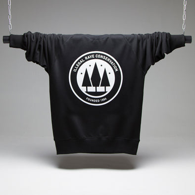 Illegal Rave Conservation Sweatshirt - Black