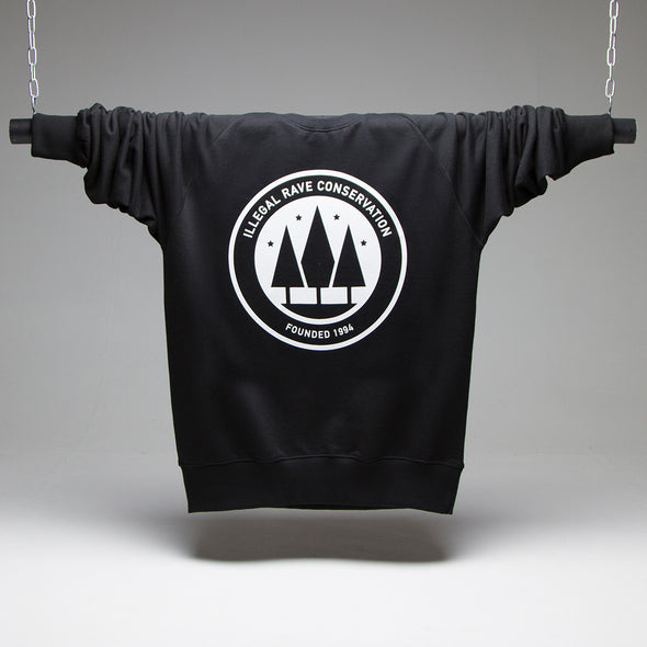 Illegal Rave Conservation - Sweatshirt - Black