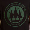 Green Print Illegal Rave Conservation - Tshirt - Black - Wasted Heroes
