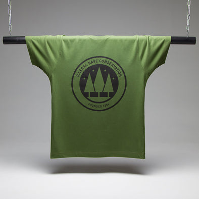 Illegal Rave Conservation - Tshirt - Green