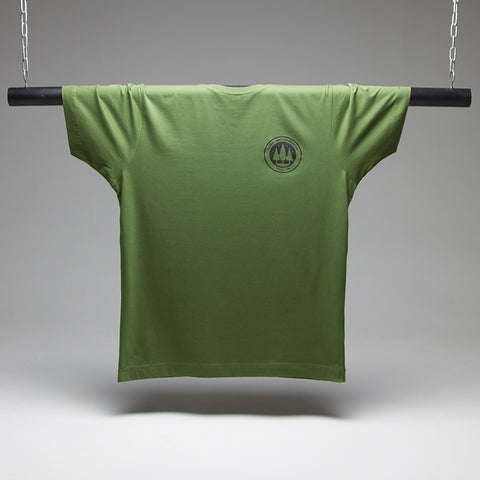 Illegal Rave Conservation Crest T-shirt - Green