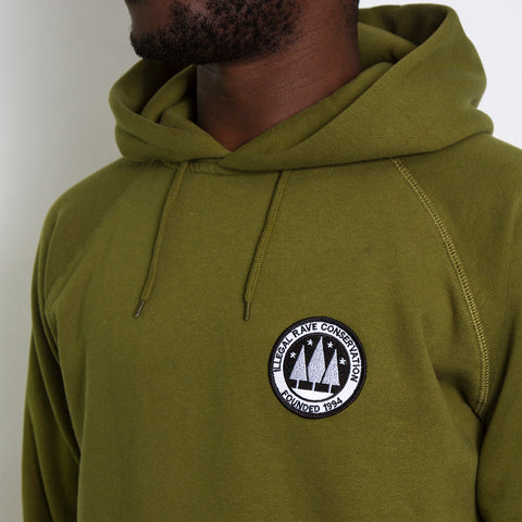 Illegal Rave Pullover Hooded Sweatshirt