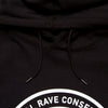 Illegal Rave Conservation - Unisex Hoodie - Black - Wasted Heroes