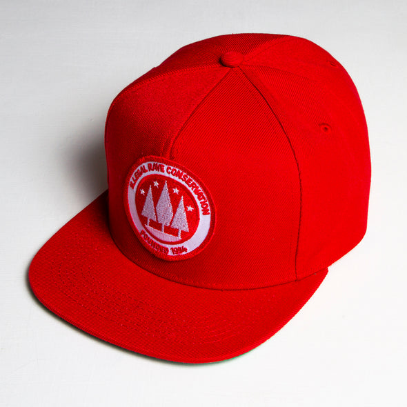 Ilegal Rave - Snapback - Full Red - Wasted Heroes