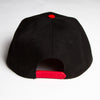 Illegal Rave - Snapback - Red & Black - Wasted Heroes