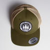 Illegal Rave - Trucker Cap - Green - Wasted Heroes