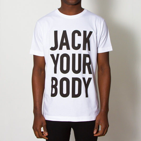 Jack Your Body - Tshirt - White