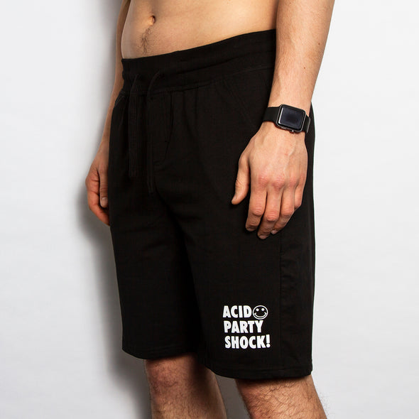 Acid Party Shock - Jersey Shorts - Black - Wasted Heroes