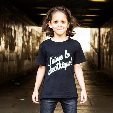 Discotheque - Kids Tshirt - Black - Wasted Heroes