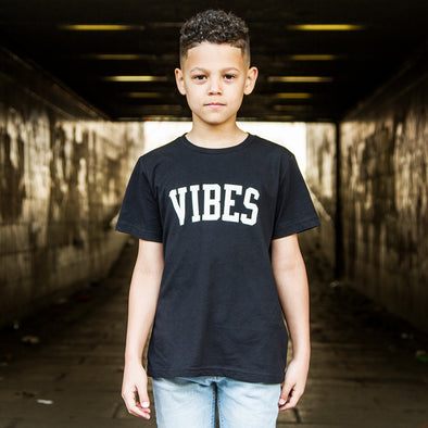 Vibes - Kids Tshirt - Black