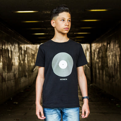 Vinyl - Kids T-shirt - Black