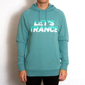 Lets Trance - Pullover Hood - Heather Eucalyptus