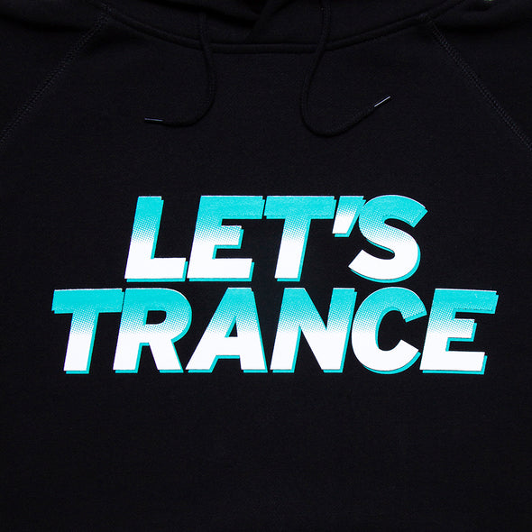 Lets Trance - Pullover Hood - Black - Wasted Heroes