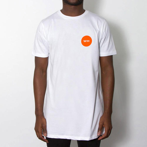 Little Pills Back Print - Longline - White - Wasted Heroes